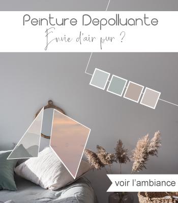 tendance déco peinture pastel depolluante