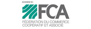 Adhérent de la fédération du commerce coopératif et associé