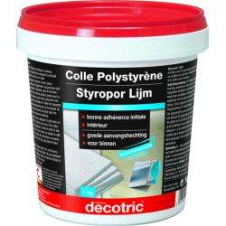 Colle pour polystyrène...