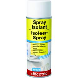Spray peinture isolant
